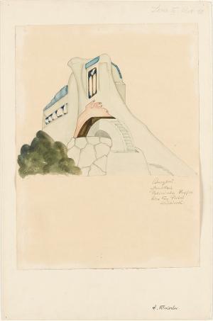 Burgbau (Serie III, Blatt 10), 1919