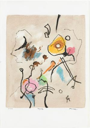 Abstrakte Komposition, 1977