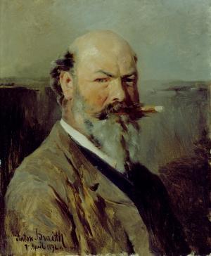 Selbstbildnis, 1892