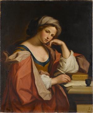 Die persische Sibylle, Mitte 17. Jh.