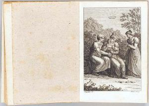 Malwina, eine Matrone und ein Mädchen (In: Taschenbuch für Damen auf das Jahr 1819,  vor S. XIII), 1819