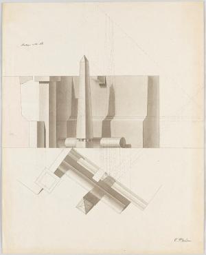 Prüfungsaufgabe für Architekten (Ausführung), 1839