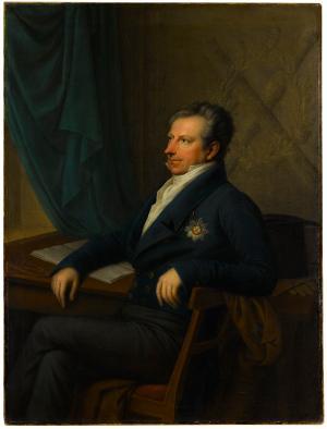 Staatsminister Karl August Freiherr von Wangenheim, um 1820