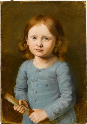 Kinderbildnis Karl von Müller, um 1816