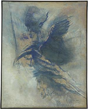 Kämpfender Engel, um 1900