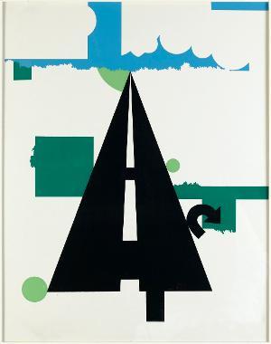 Landschaft II (Blatt 7 aus: 11 Pop Artists II), 1965