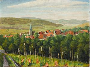 Landschaft (Grunbach im Remstal), nicht datiert