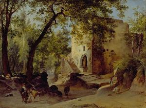 Italienische Waldlandschaft, um 1830
