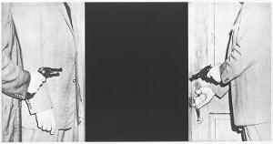 Große Tür (Blatt 8 in: Hegels Keller), 1986