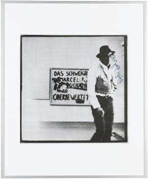 Das Schweigen von Marcel Duchamp wird überbewertet, 1971