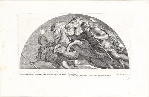 Die Dioskuren führen die Pferde in den Zodiacus zurück (Die Fresken in Florenz), 1691