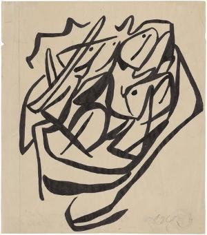 Dessin Dada (Dada-Zeichnung), 1919