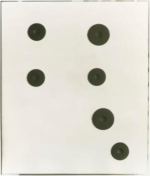 Ohne Titel (Ofenplatte), 1991