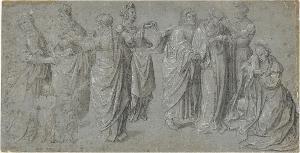 Trauernde Figuren, um 1520