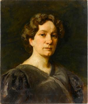 Damenporträt B.B., nicht datiert