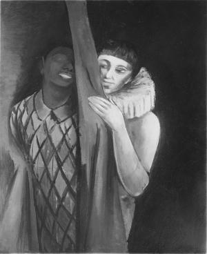 Pierrot und Pierrette, nicht datiert