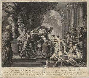 Esther vor Ahasver, 1650-90