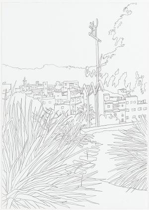Wahrzeichen Mariposa (Alfred Meyerhuber). Aus der Serie »Mariposa«, 2006