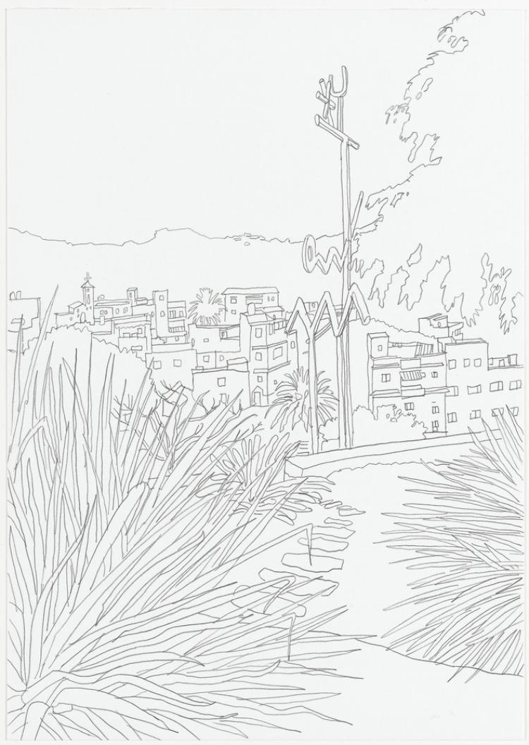 Wahrzeichen Mariposa (Alfred Meyerhuber). Aus der Serie »Mariposa«