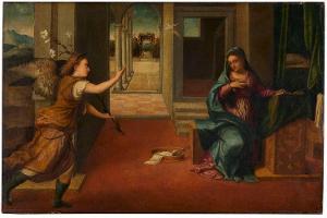 Verkündigung Mariae, 1. Hälfte des 16. Jahrhunderts