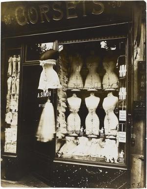 Corsets, um 1900