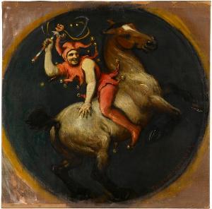 Till Eulenspiegel zu Pferd, nicht datiert
