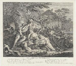 Les Amours Pastorales, 1752