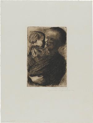 Mutter mit Kind auf dem Arm II, 1910