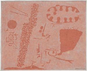 Relief Alt-Rosa IV, 1954-1955