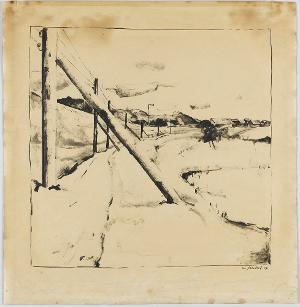 Russische Winterlandschaft, 1917