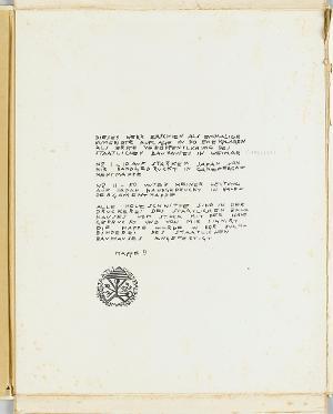 12 HOLZSCHNITTE v. LYONEL FEINIGER (Druckvermerk), 1921