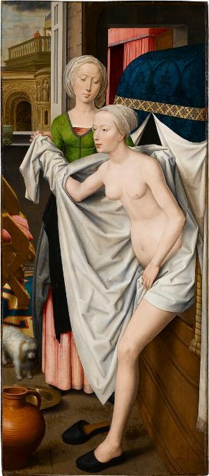 Bathseba im Bade, um 1485
