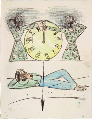 Apokalypse: Dass hinfort keine Zeit mehr sein soll (Offenbarung X, 5-7), 1941/42