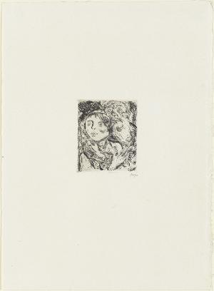 Armut (Blatt 7 in: Arno Holz zum sechzigsten Geburtstage), 1923