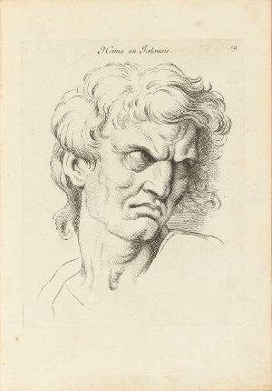 Hass oder Eifersucht (Ausdrücke der Leidenschaften der Seele, 19), 1727