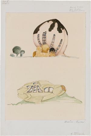 Haus der Andacht. Museum (Serie II, Blatt 5), 1915