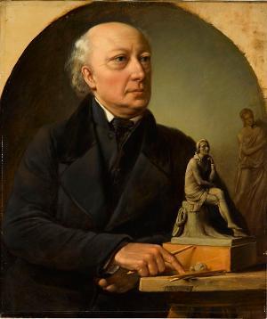 (angeblich ) Bildnis von J. H. Dannecker, nicht datiert