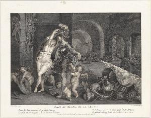 Mars kehrt aus dem Krieg zurück, 1778
