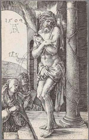 Der Schmerzensmann an der Säule (Die Kupferstichpassion), 1509