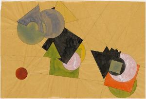 Geometrische Durchdringungen, 1922/23