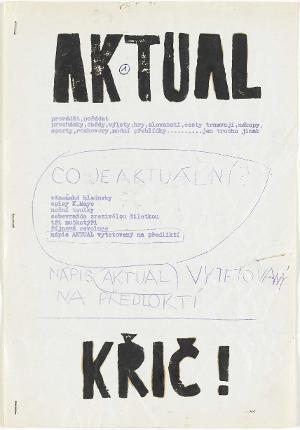 AKTUAL No. 1-3, 1964-68
