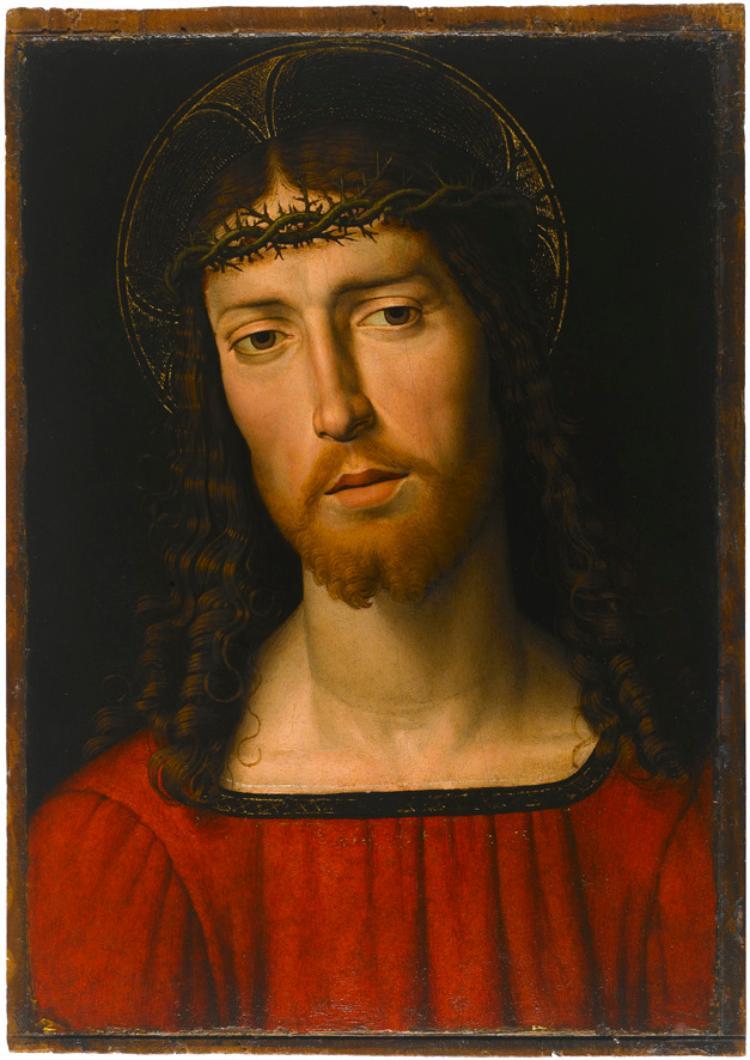 Brustbild Christi