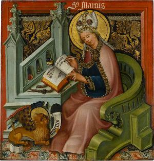 Der Evangelist Markus, 1442