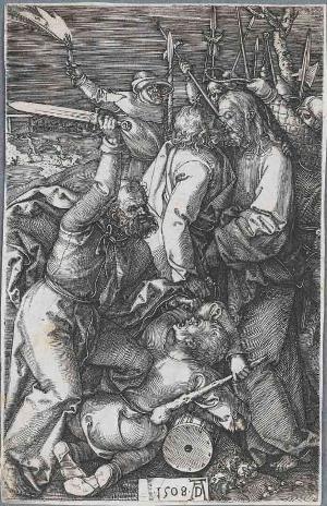 Die Gefangennahme Christi (Die Kupferstichpassion), 1508