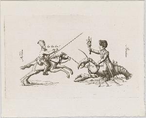 Der Krebsreiter, 1813