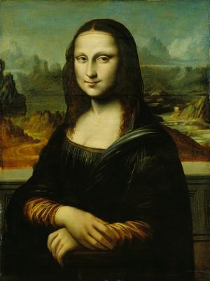 Mona Lisa (Kopie nach Leonardo da Vinci), 16./17. Jahrhundert
