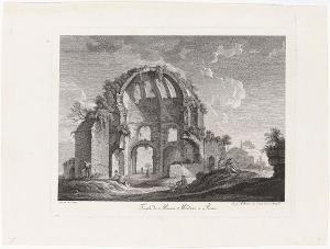 Der Tempel der Minerva Medica in Rom, nicht datiert