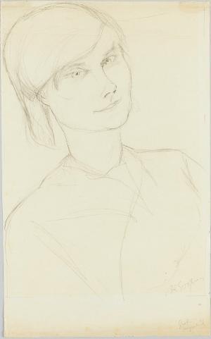 Bildnis Gräfin Keyserlingk, um 1920
