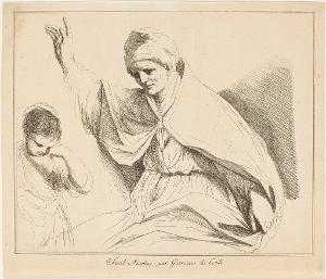 Der heilige Nikolaus, nicht datiert