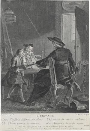 Die Kindheit (L' Enfance), nach 1743